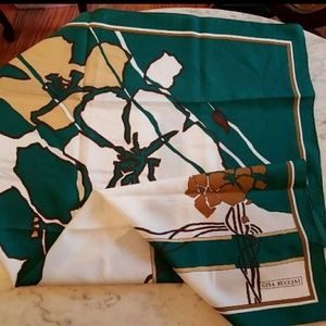 Vintage 80's Gina Ruccini scarf